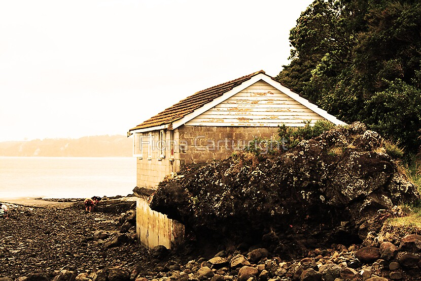 Boat Shed #2 by Fiona Cartwright