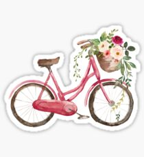 Spring Flower Bike Sticker