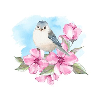 Spring bird by Gribanessa