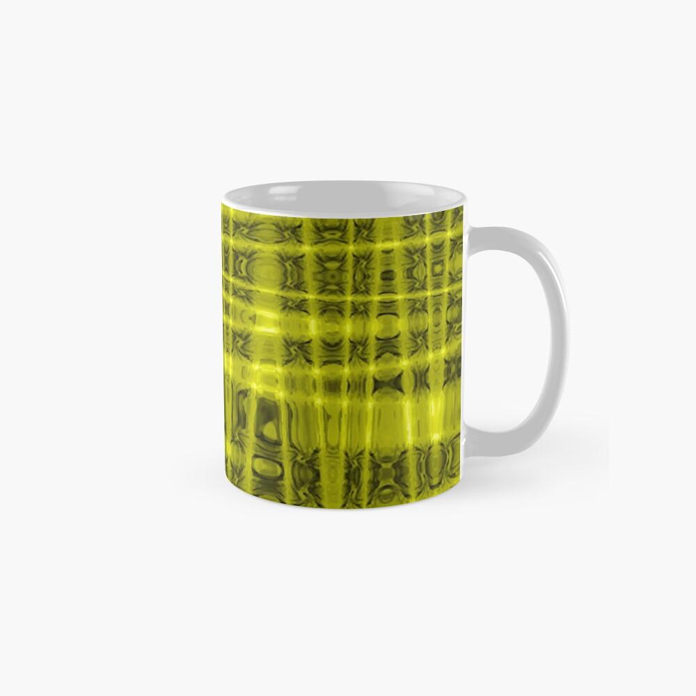 QUANTUM FIELDS ABSTRACT [1] YELLOW [1]  Classic Mug