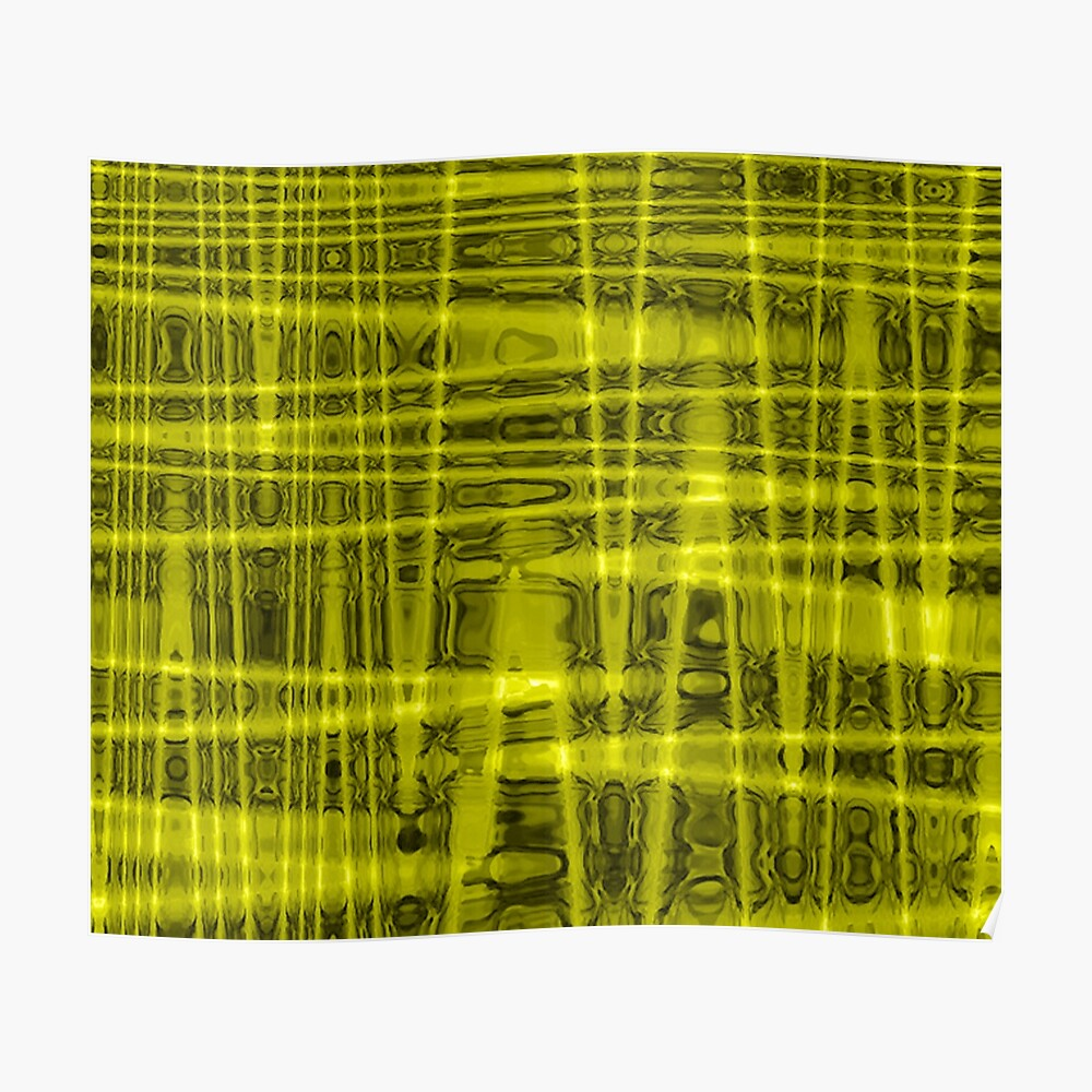 QUANTUM FIELDS ABSTRACT [1] YELLOW [1]  Poster