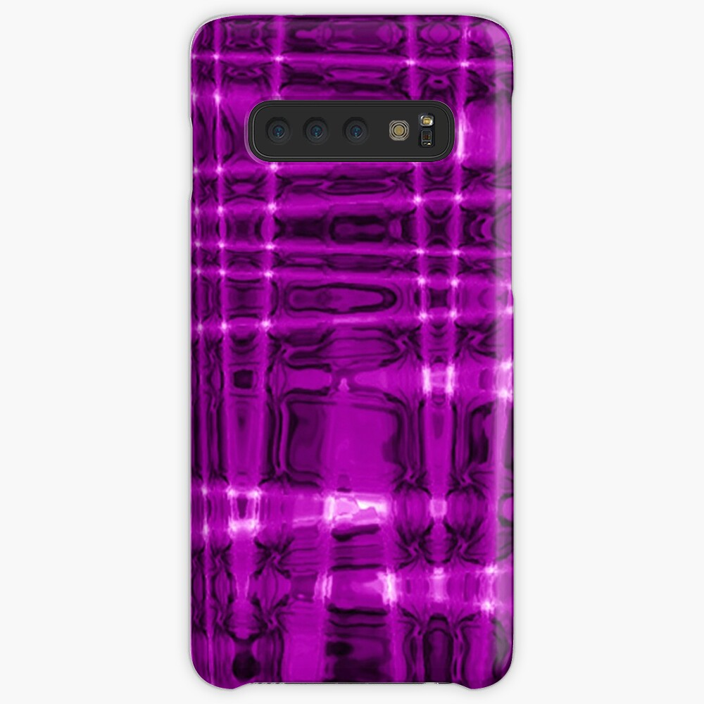 QUANTUM FIELDS ABSTRACT [1] VIOLET [1] Samsung Galaxy Snap Case