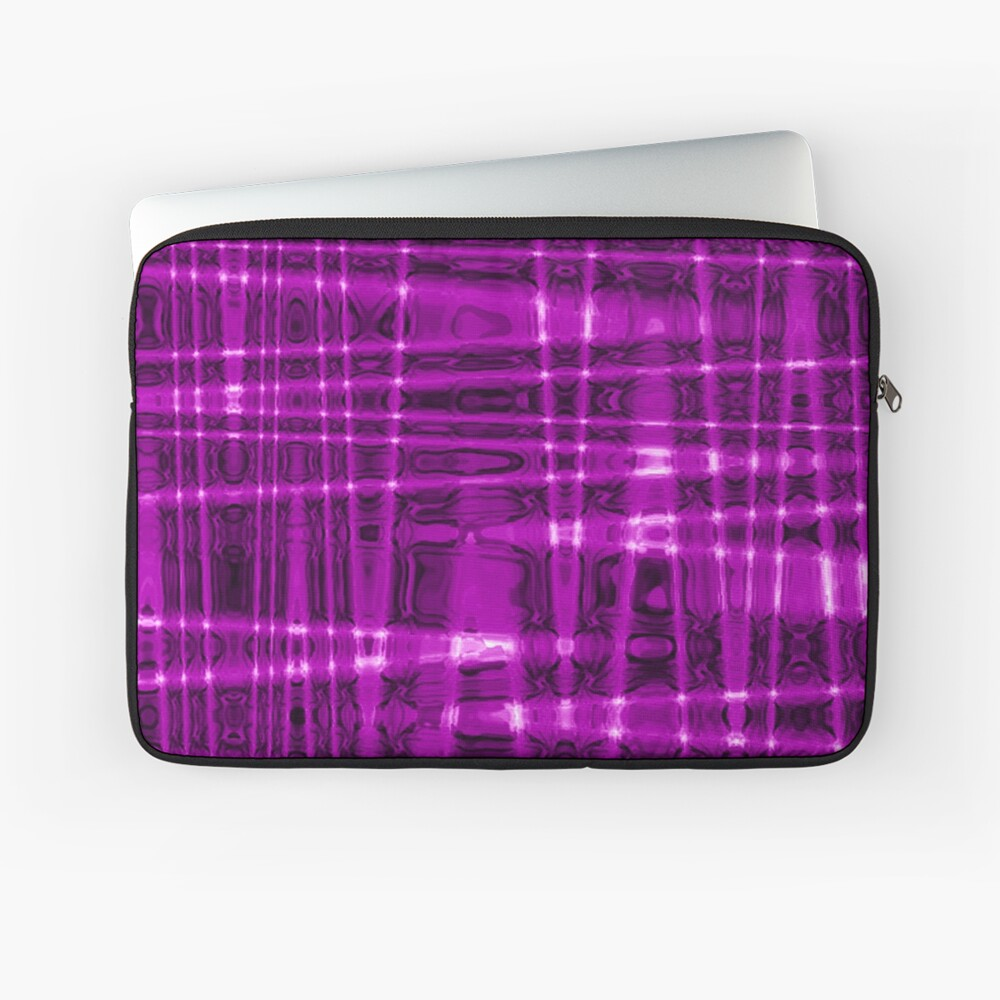 QUANTUM FIELDS ABSTRACT [1] VIOLET [1] Laptop Sleeve