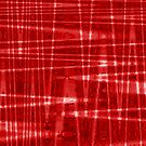 QUANTUM FIELDS ABSTRACT [1] RED [1] by jamie garrard