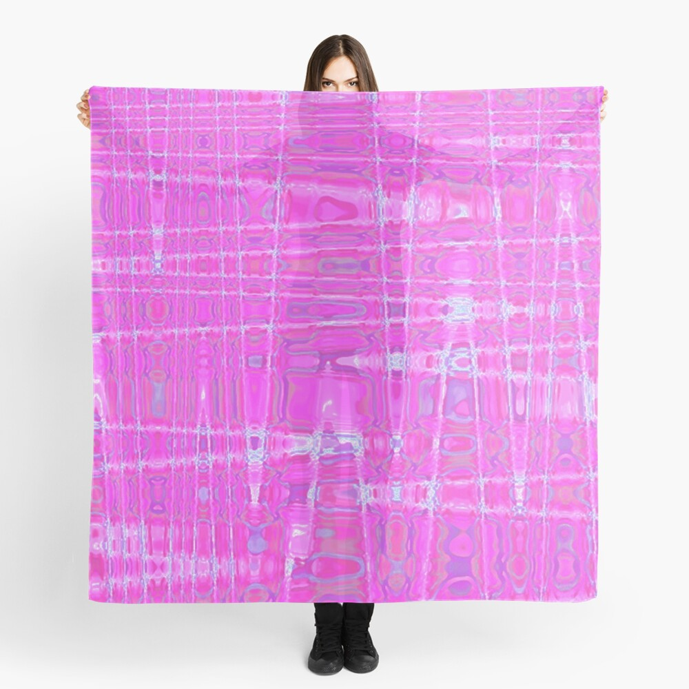 QUANTUM FIELDS ABSTRACT [1] PINK [1] Scarf