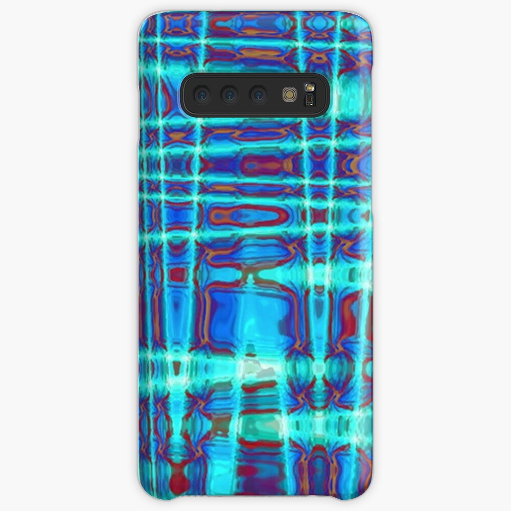 QUANTUM FIELDS ABSTRACT [1] INDIGO [2] Samsung Galaxy Snap Case