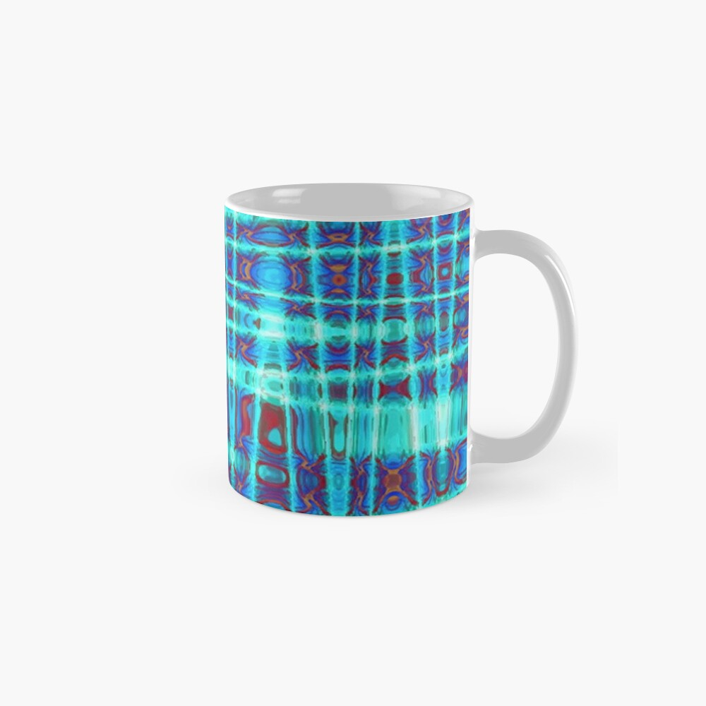QUANTUM FIELDS ABSTRACT [1] INDIGO [2] Classic Mug