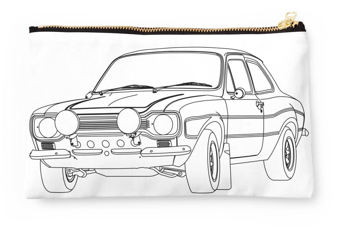 """""""1970 Ford Escort RS2000 Fast And Furious Paul Walker's"""