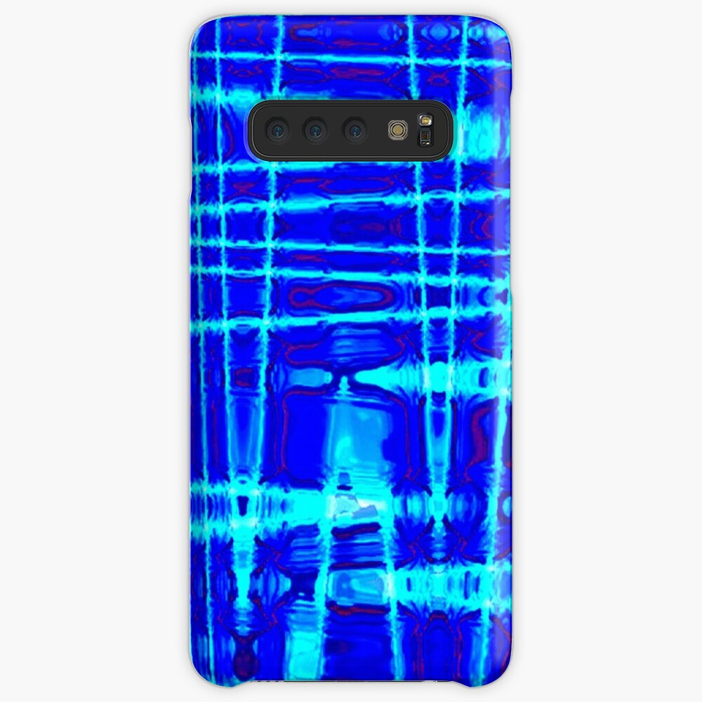 QUANTUM FIELDS ABSTRACT [1] BLUE [2] Samsung Galaxy Snap Case