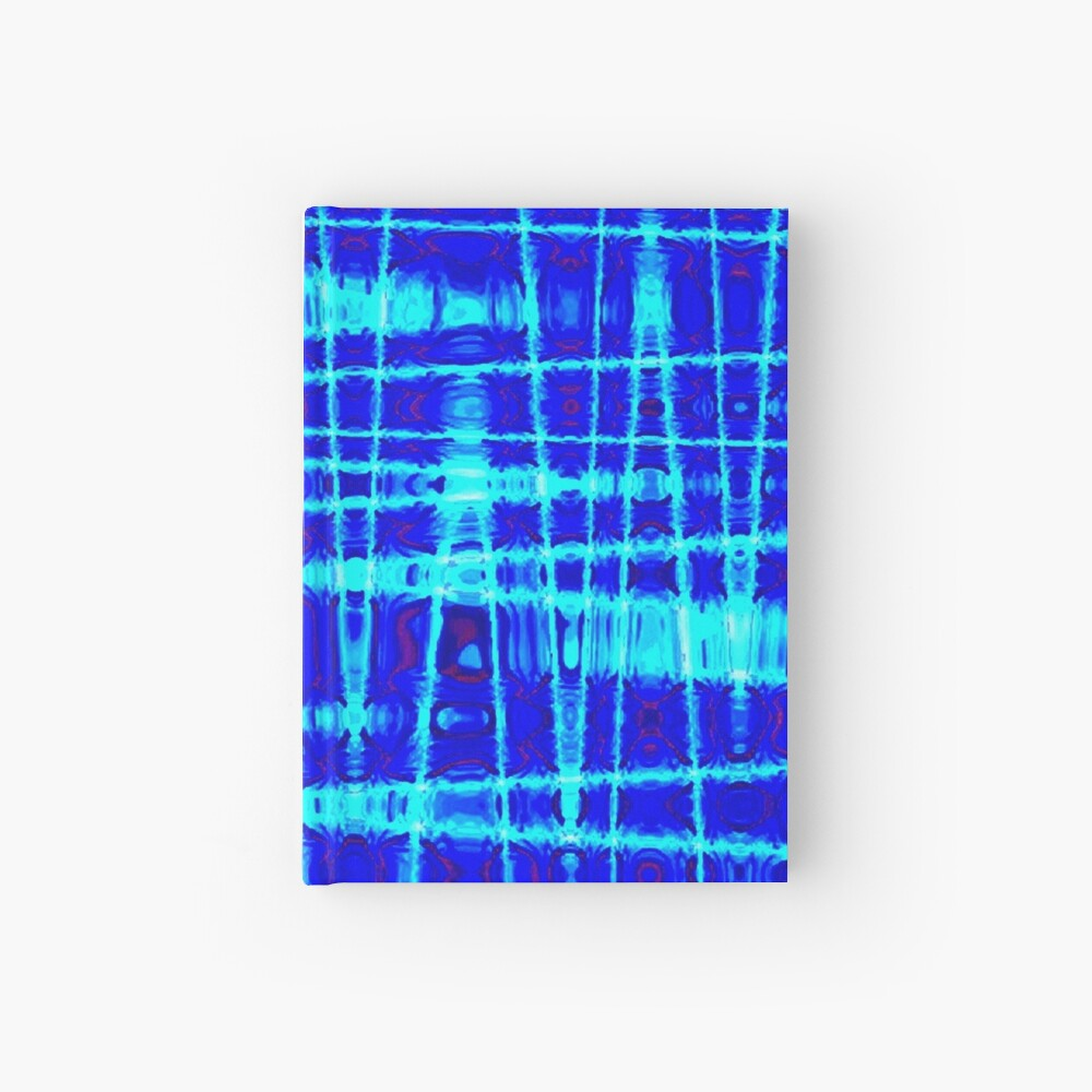 QUANTUM FIELDS ABSTRACT [1] BLUE [2] Hardcover Journal