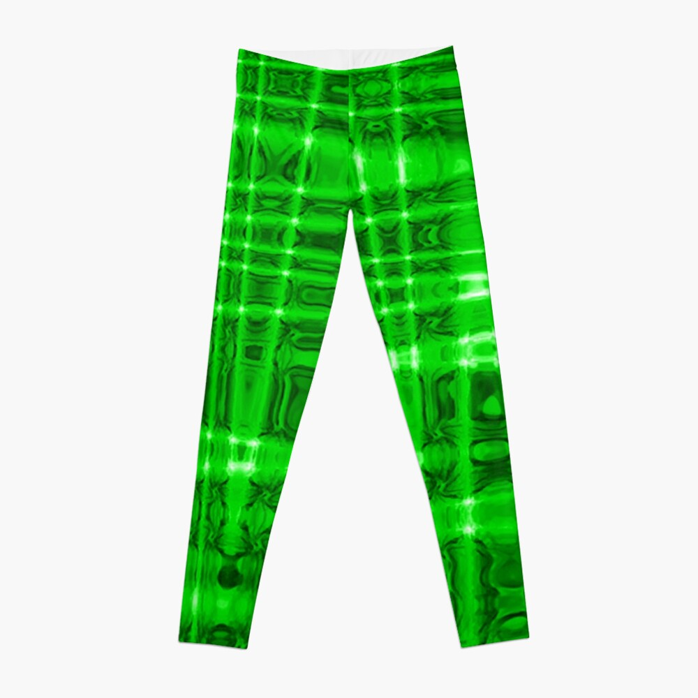QUANTUM FIELDS ABSTRACT [1] GREEN [2] Leggings