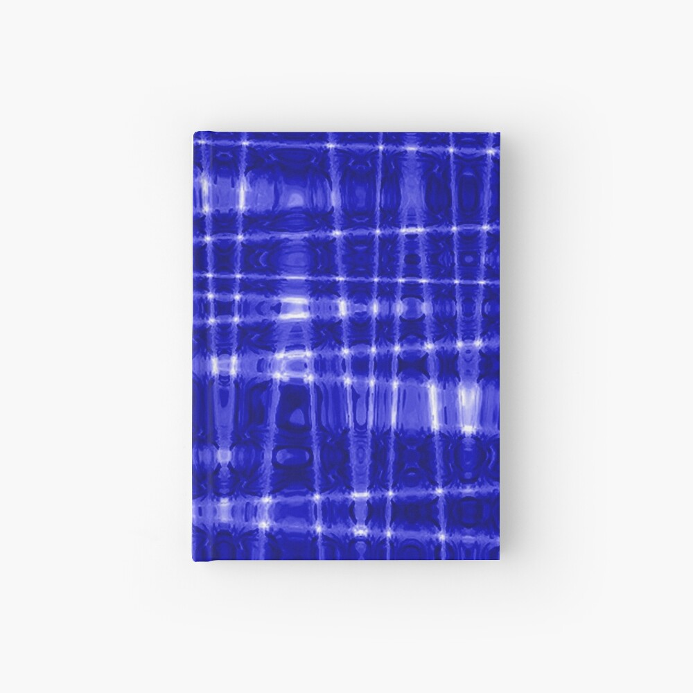 QUANTUM FIELDS ABSTRACT [1] BLUE [1] Hardcover Journal