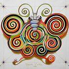 Psychotronic moth by federico cortese