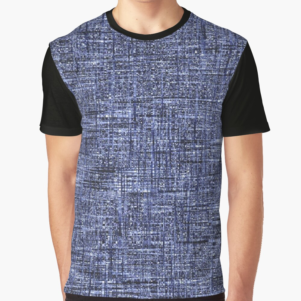 QUANTUM FIELDS ABSTRACT [4] GREY [1] Graphic T-Shirt