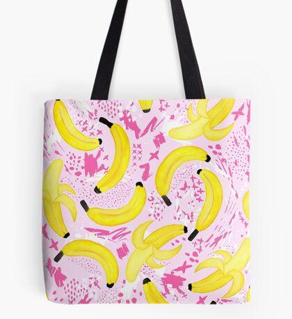 Bananas - I Find You Apeeling - Pink Tote Bag