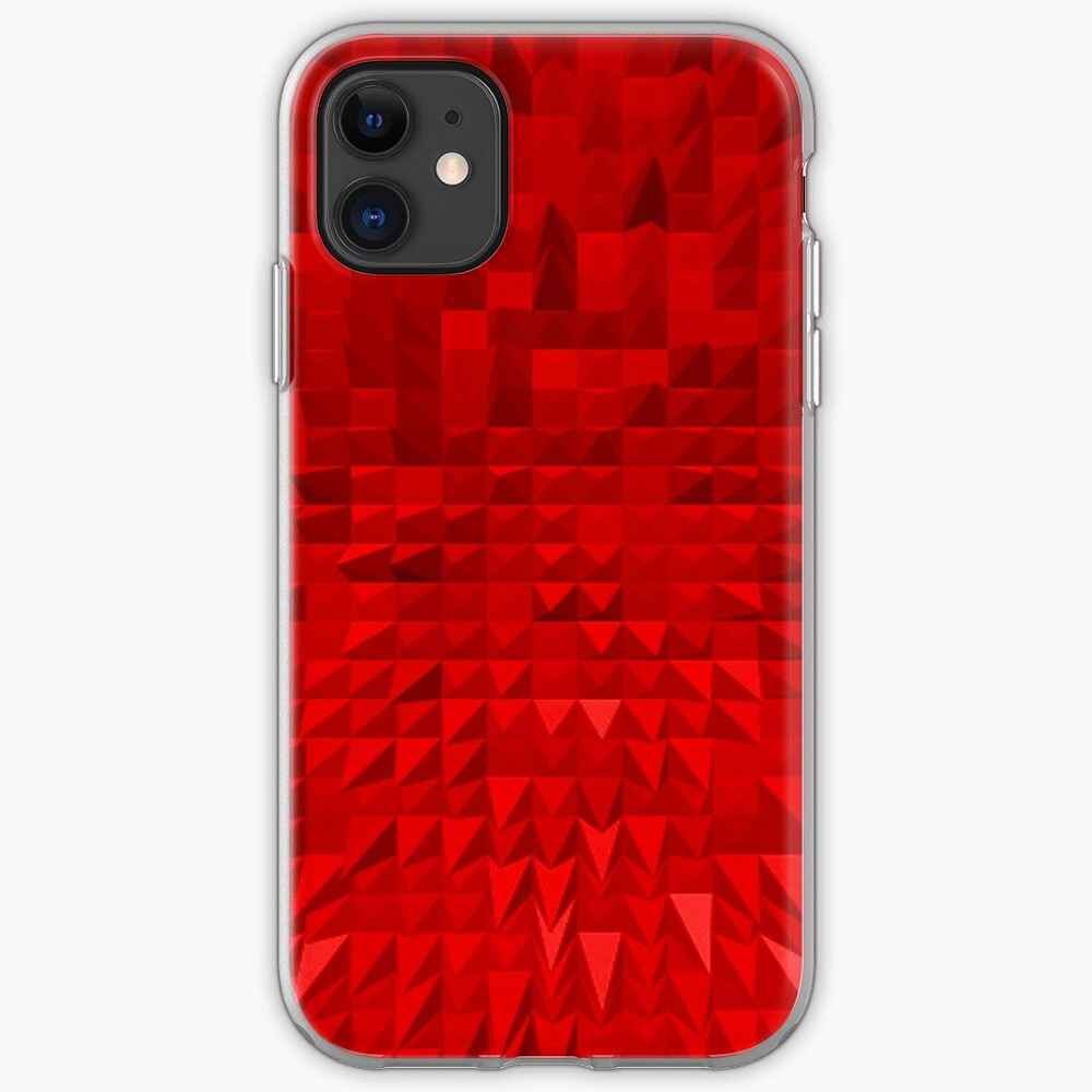 VISION OF THOUGHT ABSTRACT [1] RED [1] iPhone Soft Case