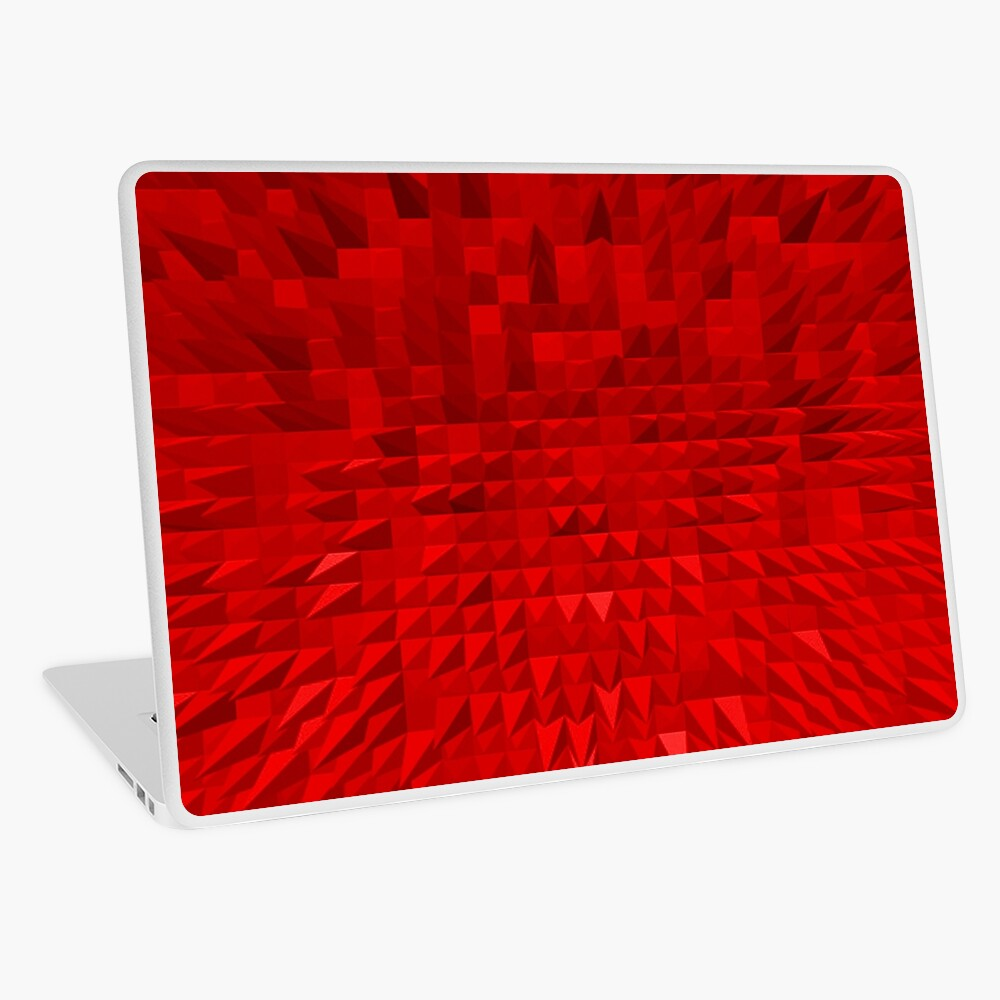 VISION OF THOUGHT ABSTRACT [1] RED [1] Laptop Skin
