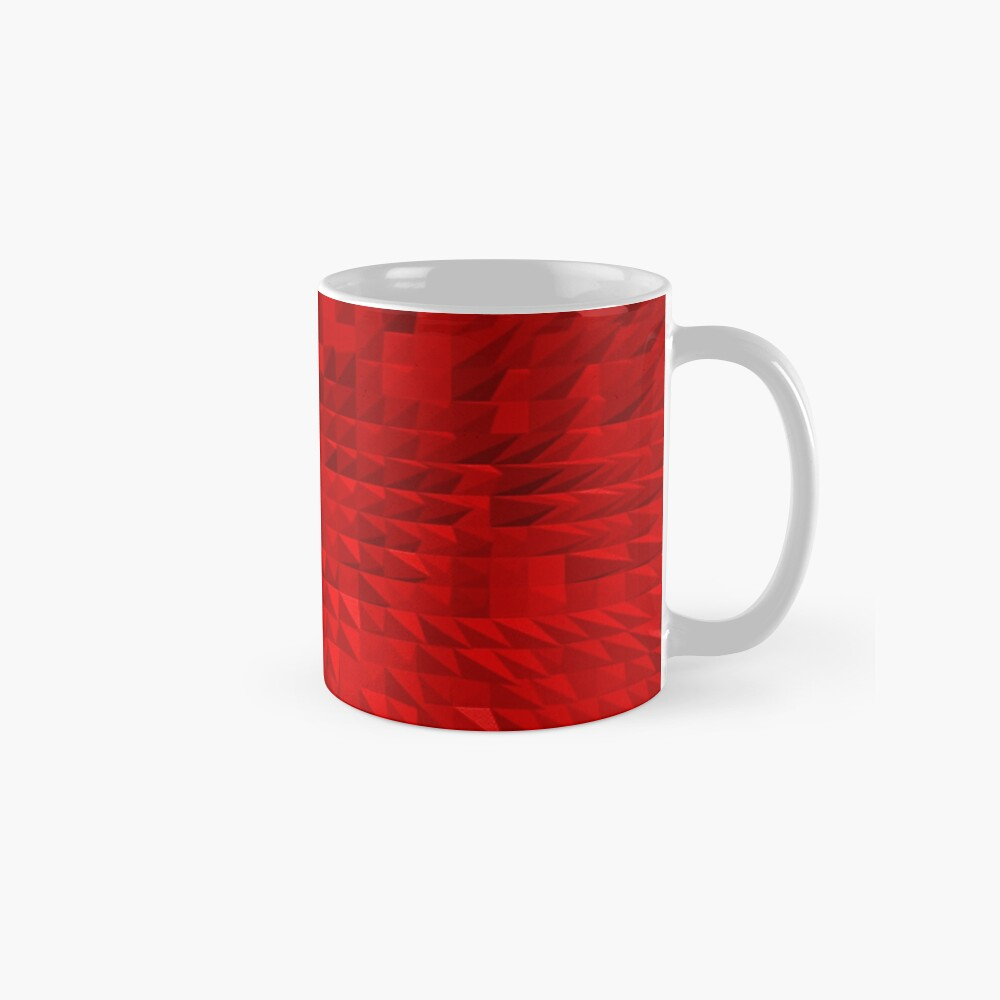 VISION OF THOUGHT ABSTRACT [1] RED [1] Classic Mug