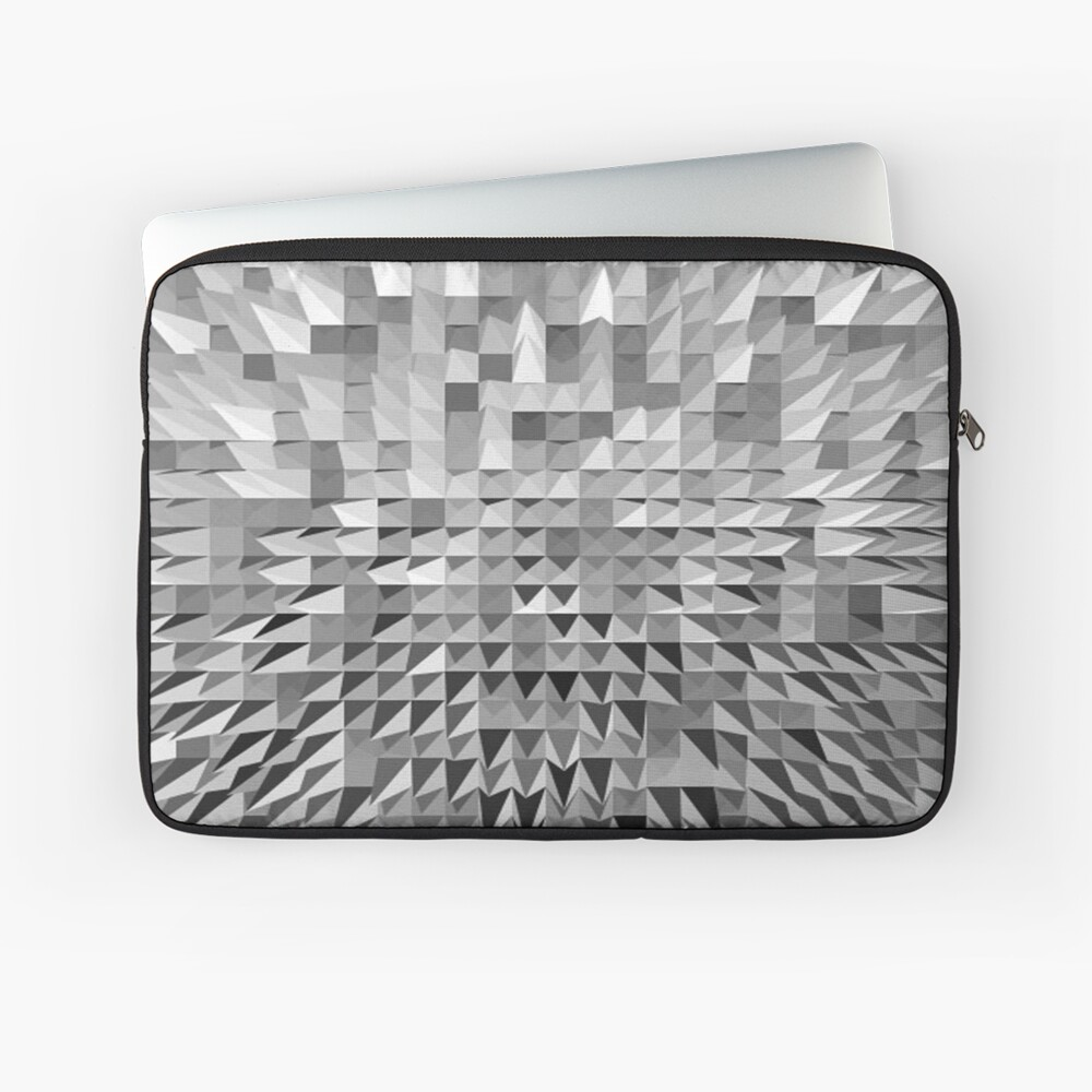 VISION OF THOUGHT ABSTRACT [1] GREY [1] Laptop Sleeve