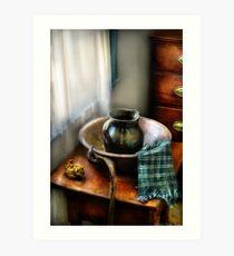 A Wash Basin Art Print