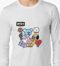 BTS - BT21 - ALL Long Sleeve T-Shirt