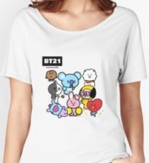 BTS - BT21 - ALL Women's Relaxed Fit T-Shirt