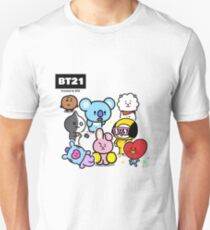 BTS - BT21 - ALL Unisex T-Shirt