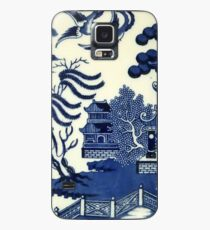 Antique willow ware Case/Skin for Samsung Galaxy