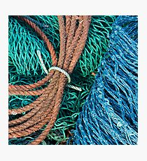 Gairloch Fishnets #2 Photographic Print