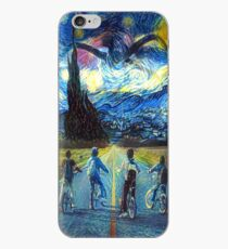 Stranger Things starry night iPhone Case