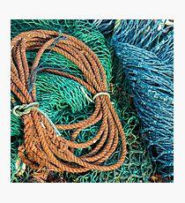 Gairloch Fishnets #3 Photographic Print