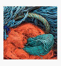 Gairloch Fishnets #8 Photographic Print