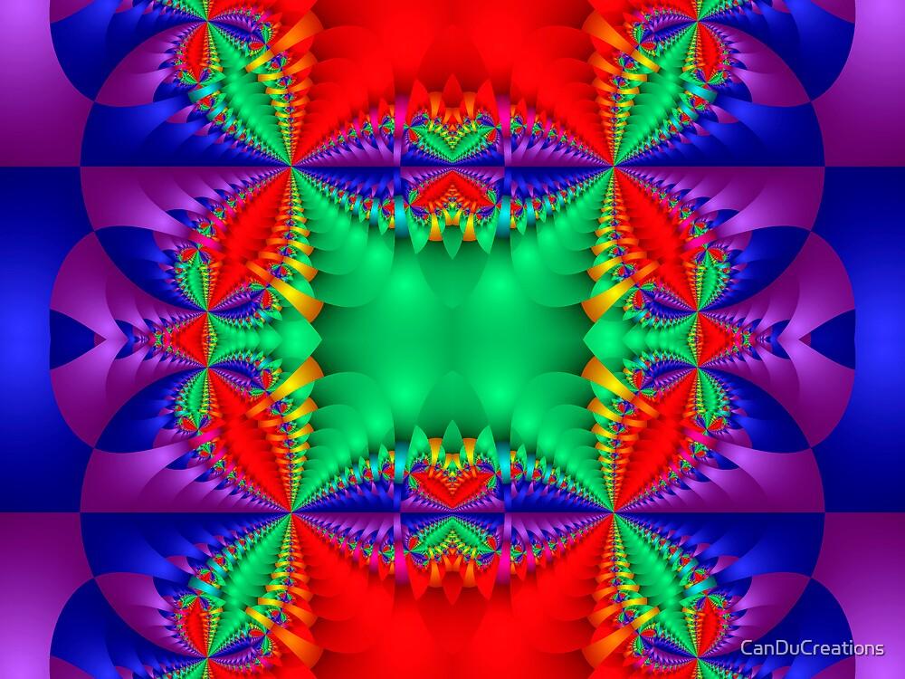The rainbow kaleidoscope by CanDuCreations
