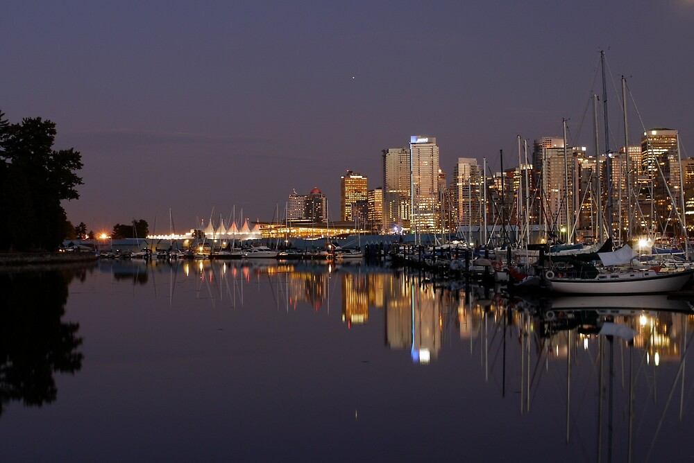 Vancouver City Lights by Rae Tucker