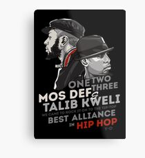 Best Alliance In Hip-Hop Metal Print