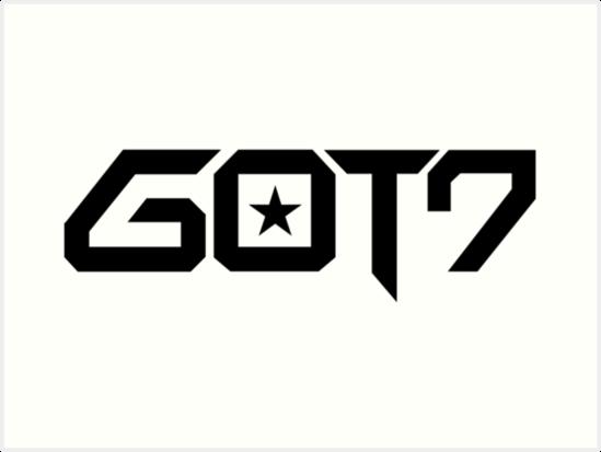 l225minas art237sticas 171got7 logotipo187 de redone48 redbubble