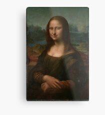 Mona Lisa Leonardo da Vinci Metal Print