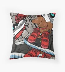 yeezy dog Throw Pillow