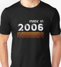 Made In 2006 - Retro 12. Geburtstagsgeschenk Slim Fit T-Shirt