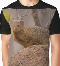 Dwarf mongoose, South Africa Graphic T-Shirt