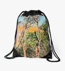 Unnatural colours of Australia Drawstring Bag