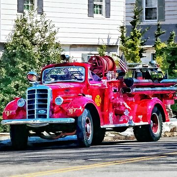 Old Fashioned Fire Truck by SudaP0408