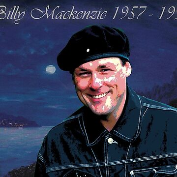 Billy Mackenzie by DivDesigns