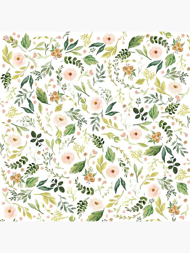 Botanical Spring Flowers  by junkydotcom