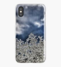 Snow crystals reaching to the sky iPhone Case/Skin