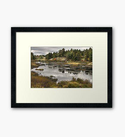 Magnetewan Territory, Ontario, Canada Framed Print