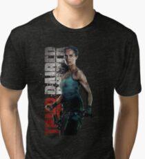 Tomb Raider 2018 Tri-blend T-Shirt