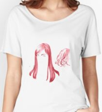 Two Red Girls Women's Relaxed Fit T-Shirt