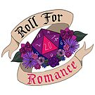 Roll For Romance - Bi Pride by flailingmuse