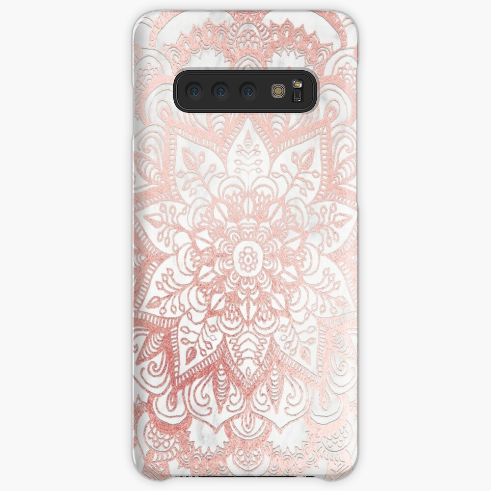 Rose Gold Mandala Star Samsung Galaxy Snap Case